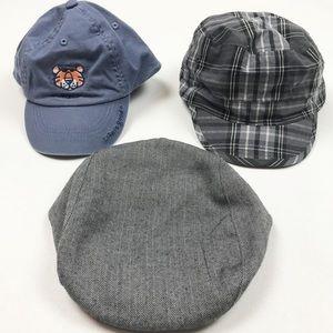 Lot of boys hats